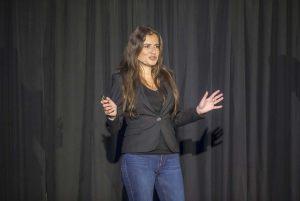 Inna-Braverman-speaking-on-TED