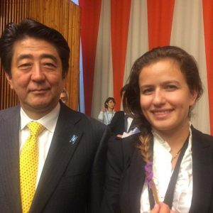 Prime-Minister-of-Japan-Mr.-Shinzo-Abe-and-Inna-Braverman
