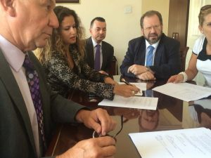 Signing-PPA-with-Minister-of-Enviorment-of-Gibraltar-John-Cortes